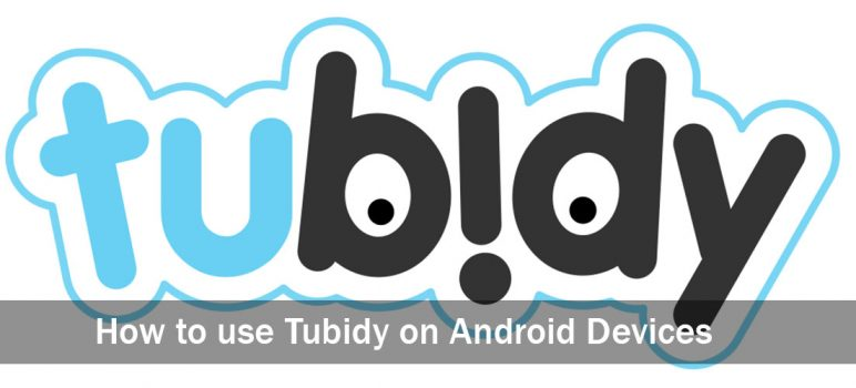 How to use Tubidy on Android Devices
